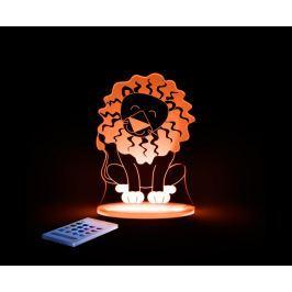 Aloka Nočné svetielko Lev + ovládač pre voľbu farieb