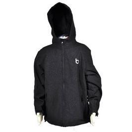 Bugga Chlapčenská funkčná softshellová bunda - čierna