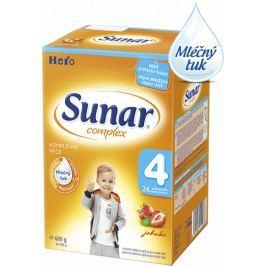 Sunar dojčenské mlieko Complex 4 jahoda, 6x600 g