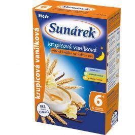 Sunárek krupicová kašička s vanilkou na dobrú noc mliečna 225g