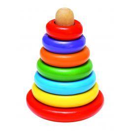 WOODY Magnetická skladacia pyramída - Káča