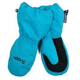 Bugga Detské zimné rukavice s kožušinkou - tyrkysové