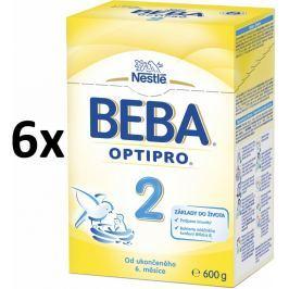 BEBA dojčenské mlieko PRE 2, 6x600g
