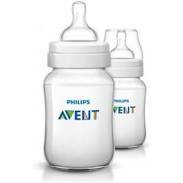 Philips Avent Fľaša Classic + 260 ml (PP), 2 ks