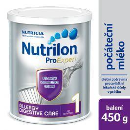 Nutrilon dojčenské mlieko 1 Allergy Digestive Care 450g