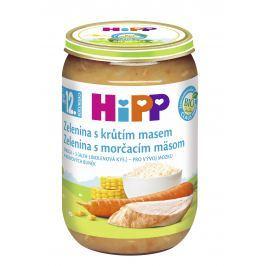 HiPP BIO Zelenina s morčacím mäsom 6x220g