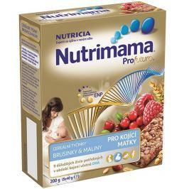Nutrimama Cereálne tyčinky brusnice / maliny 200 g (5x40 g)
