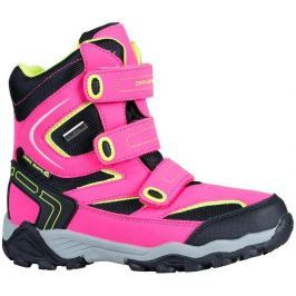 ALPINE PRO Dievčenské vysoké zimné topánky Dairo - ružové