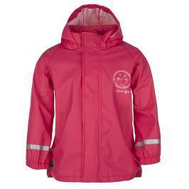 LOAP Dievčenská nepremokavá bunda SILVESTER - ružová