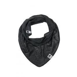 Lamama Chlapčenský šatka / nákrčník - čierno-šedý