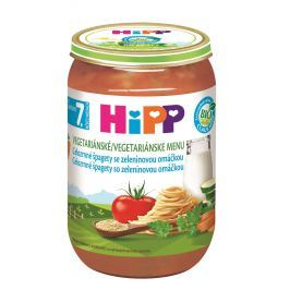 HiPP BIO Celozrnné špagety so zeleninovou omáčkou 6x220g