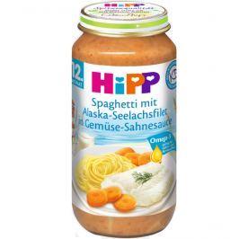 HiPP Špagety s morskou rybou a zeleninou 6x250g