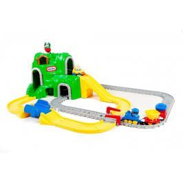 Little Tikes Autodráha so železnicou