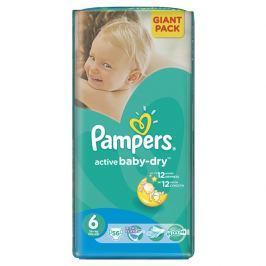 Pampers Active Baby 6 Extra large 15 + kg, 56 ks GIANTPACK - jednorázové plienky