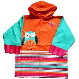 PIDILIDI Dievčenské pláštenka so sovou - farebná