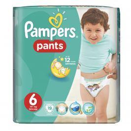 Pampers Pants plienkové nohavičky 6 Extra Large (16-22 kg), 19 ks