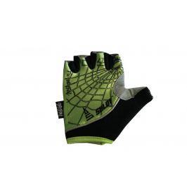 Sulov Cyklistické rukavice Twist Gel, zelené - veľkosť M