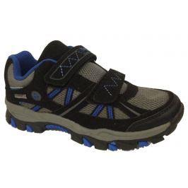Bugga Chlapčenská softshellová obuv - šedo-čierna