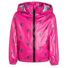 Blue Seven Dievčenské bunda s hviezdičkami - ružová