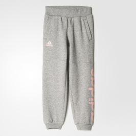 adidas Dievčenské tepláky - šedé