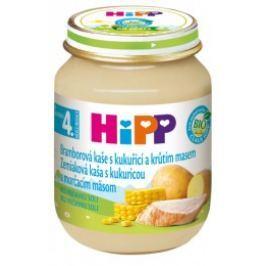 HiPP BIO Zemiaková pyré s kukuricou a morčacím mäsom 6x125g
