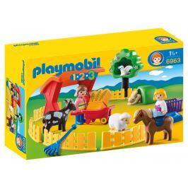 Playmobil 6963 Výbeh domácich zvierat (1.2.3)
