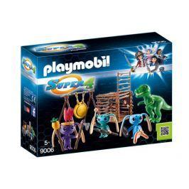 Playmobil 9006 Bojovníci Alien s pascou na T-Rexa