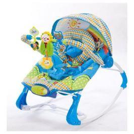 Sun Baby Detské ležadlo s hudobným centrom a vibráciami, levíček