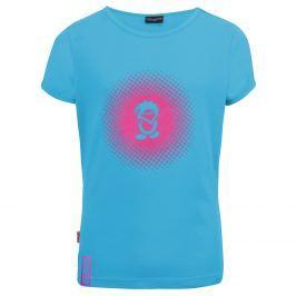 Trollkids Dievčenské tričko Logo s UV 30+ - modré