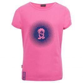 Trollkids Dievčenské tričko Logo s UV 30+ - ružové