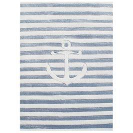 Happy Rugs Detský koberec pruhovaný s kotvou, 120x180 cm