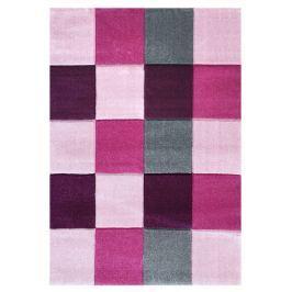 Happy Rugs Detský koberec kocky - ružový, 160x230 cm