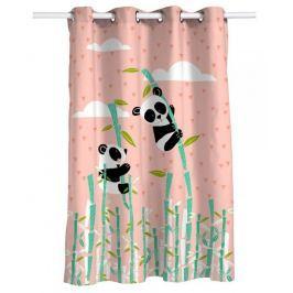 Moshi Moshi Detský záves Panda Garden, 135x180 cm