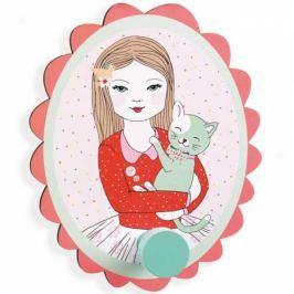 Djeco Malý vešiak Dievča s mačkou