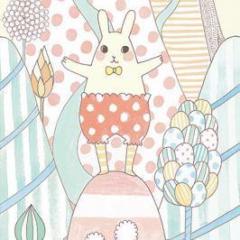 Djeco Tapeta čarovný svet zajačika Yoko