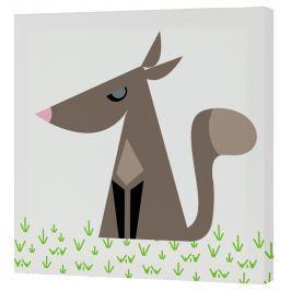Mr. FOX Nástenný obraz Grandma - vlk, 27x27 cm