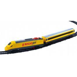 Rappa Vlak žltý RegioJet so zvukom a svetlom - funkčný model súpravy