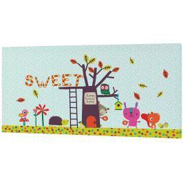 Baleno Nástenný obraz Sweet Home, 27x54 cm