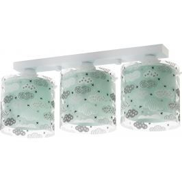 Dalber Detské stropné svietidlo Clouds Green
