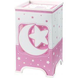 Dalber Detská stolová lampička LED Moon Pink