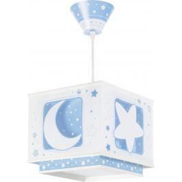 Dalber Detské závesné svietidlo Moon Blue