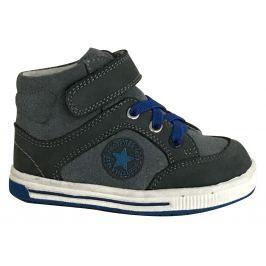 Protetika Chlapčenské členkové topánky Eliot - šedé