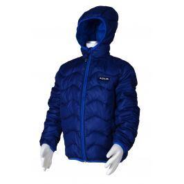 PIDILIDI Chlapčenská nylonová prešívaná bunda - tmavo modrá