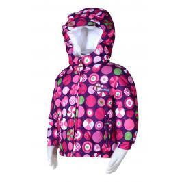 PIDILIDI Dievčenská zimná bunda s kolieskami - ružová
