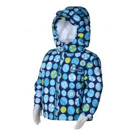 PIDILIDI Chlapčenská zimná bunda s kolieskami - modrá