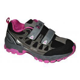 Bugga Dievčenská softshellová obuv - ružovo-šedá