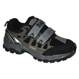 Bugga Chlapčenská softshellová obuv - šedá