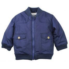 Dirkje Chlapčenská bunda s vreckami - modrá