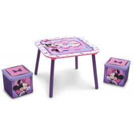 Delta Detský stôl s taburetmi Minnie