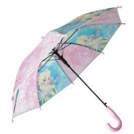 E plus M Dievčenské dáždnik Frozen - ružový